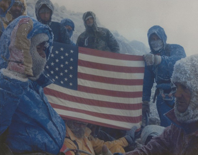 Mount Rainier, Washington-Eldon Bargewell 24-August-1986