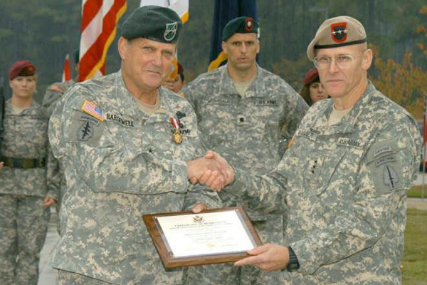 Major General Eldon A. Bargewell