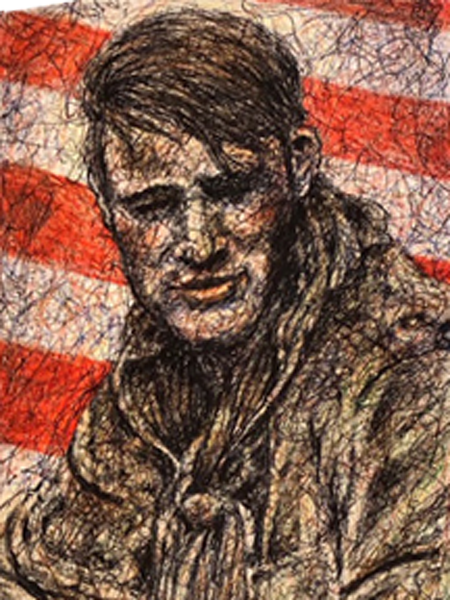 Eldon Bargewell artist's sketch