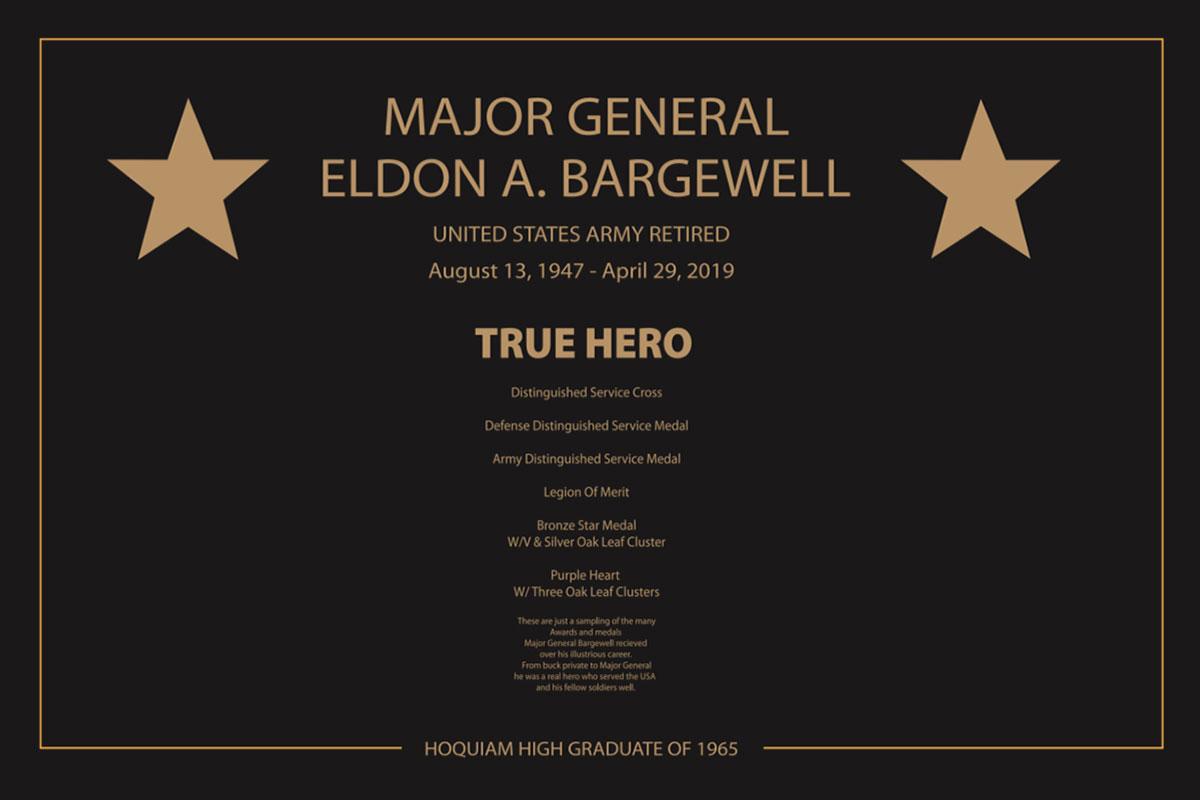 True Hero Plaque