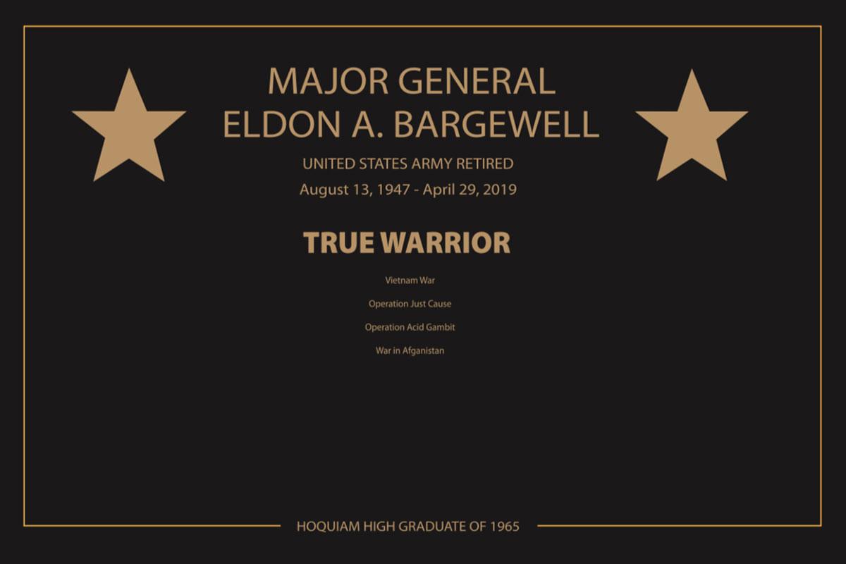 True Warrior Plaque